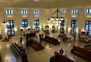 Inside King Street Station