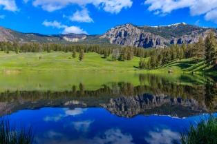Yellowstone National Park Trout Lake