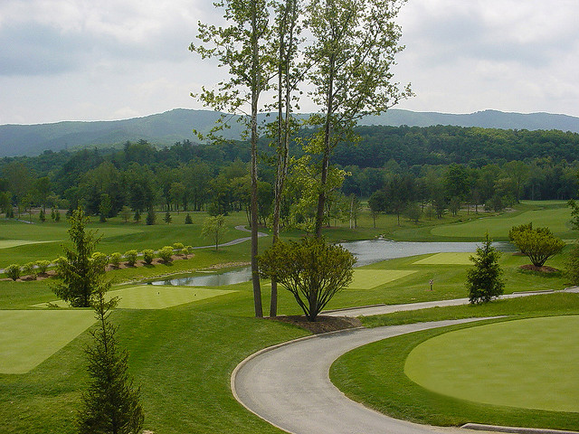 The Greenbrier golf course