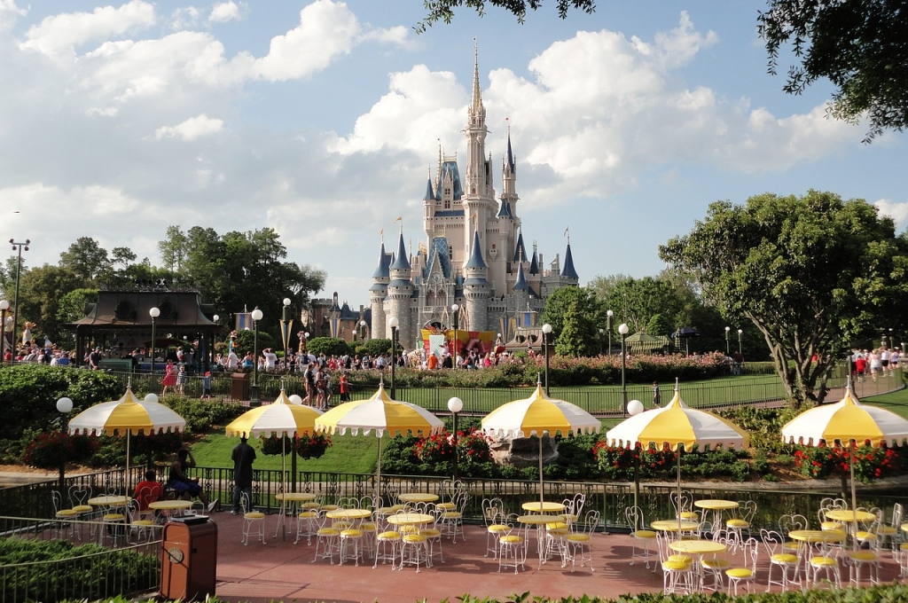 Disneyland California castle