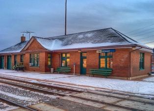 Mt. Pleasant Iowa Amtrak Station
