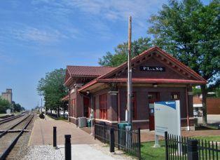Plano Illinois Amtrak Station