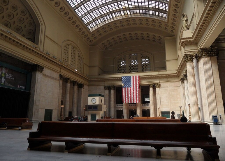 Inside Chicago Union Station