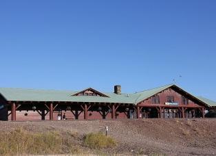 East Glacier Amtrak Station
