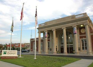 Greensboro North Carolina Amtrak Station