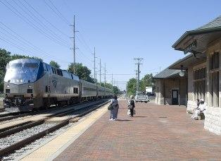 Dowagiac Amtrak Station