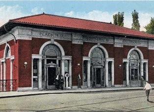 Atlanta Peachtree Amtrak Station