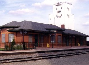 Garden City Amtrak Station in Kansas