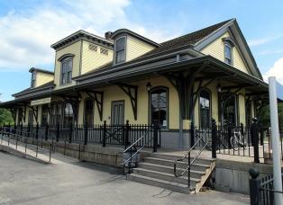 Kingston Rhode Island Amtrak Station