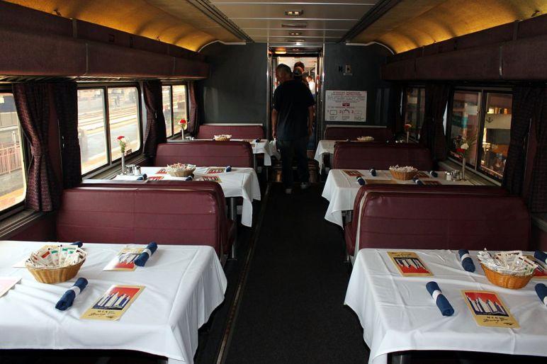 Amtrak Dinng Car