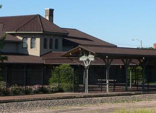 Hastings Nebraska Amtrak Station