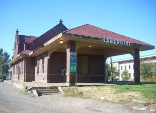 Sandpoint Idaho Amtrak Station