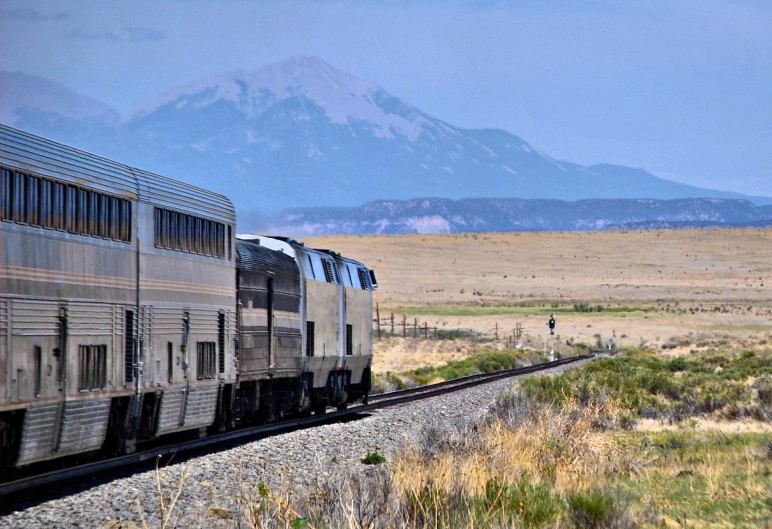 Southwest Chief route in Colorado