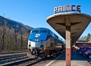 Prince Amtrak Station