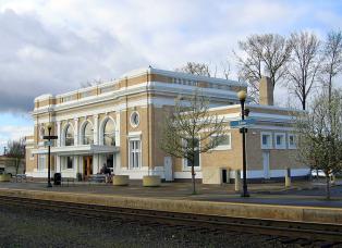 Salem Oregon Amtrak Station