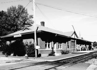 Newbern-Dyersburg Amtrak Station