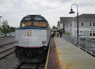 Brunswick Maine Amtrak Station