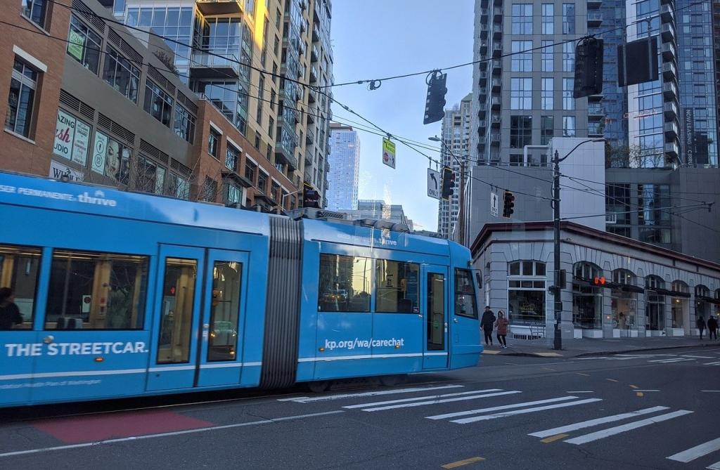 Downtown Seattle streetcar
