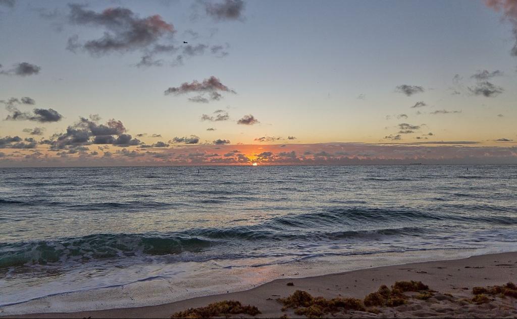 Florida Sunrise Atlantic Ocean