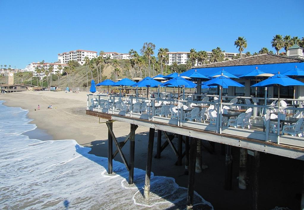 Restaurant on San Clemente Pier
