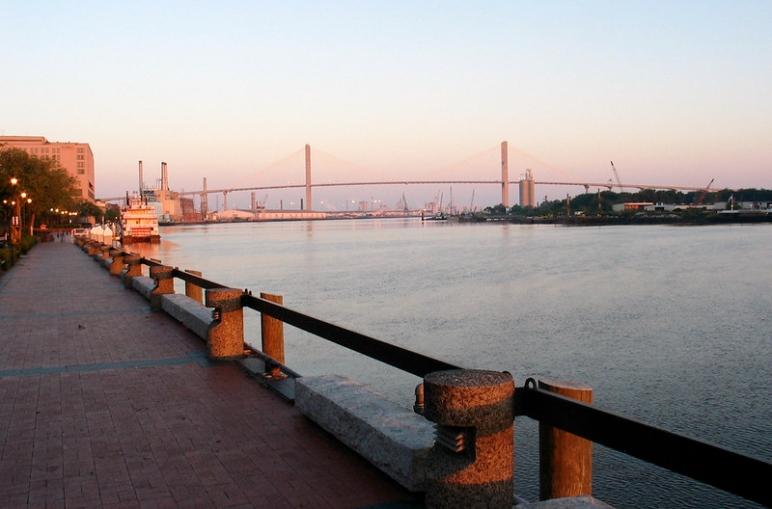 Savannah Georgia River Street