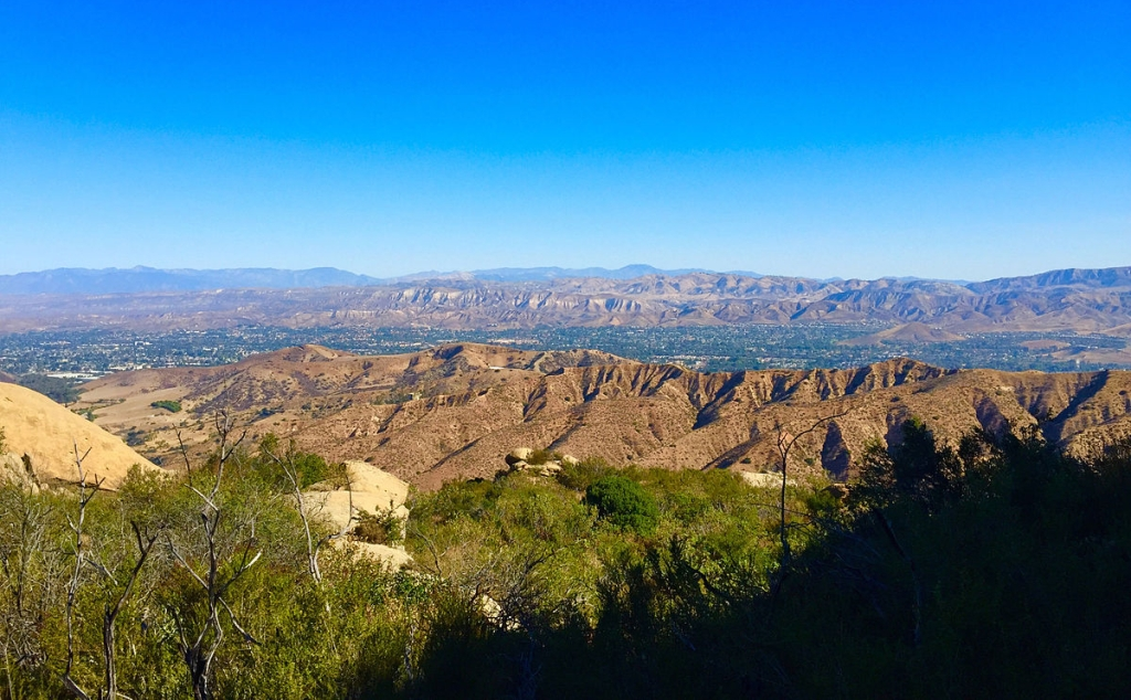 Simi Valley from Sage Ranch