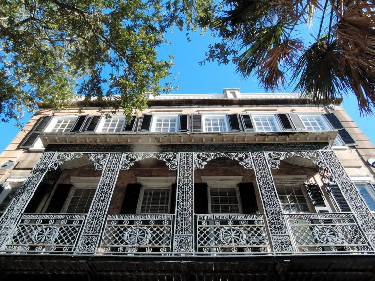 Historic house in Charleston South Carolina