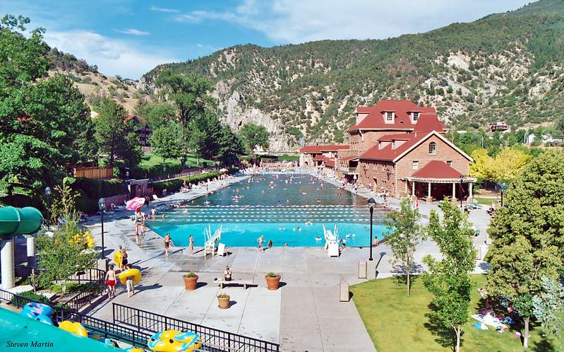 Pool in Glenwood Springs, Colorado